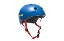 ProTec The Classic Helm gloss blue retro